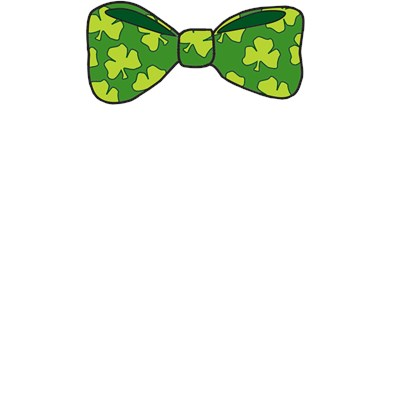 St. Patrick's Day Leprechaun Bow Tie T-Shirt