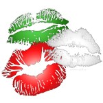 Italian Kissing Lips