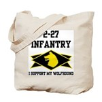 2-27 Infantry Wolfhounds Tote Bag