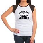 Property of a 891st Soldier Women's Cap Sleeve T-S