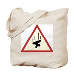 Heavy Precipitation Tote Bag