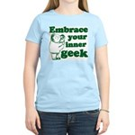 Embrace Your Inner Geek Women's Light T-Shirt