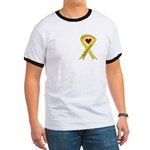 Sister Safe OEF yellow ribbon Ringer T