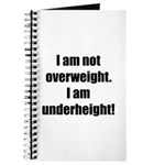 I am not overweight... Journal