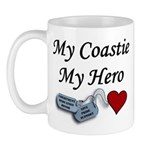 USCG Coastie Hero Dog Tags Mug