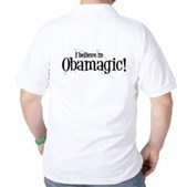 I Believe in Obamagic Golf Shirt
