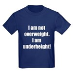 I am not overweight... Kids Dark T-Shirt
