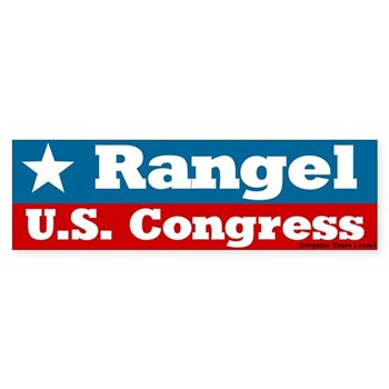 Charles Rangel for Congress bumper sticker