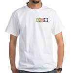 White T-Shirt    : Sizes S,M,L,XL,2XL,3XL,4XL