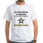 National Guard - My Boyfriend White T-Shirt