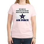My Son is serving - USAF Women's Light T-Shirt