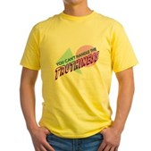 You Can't Handle the Truthiness Yellow T-Shirt