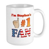 I'm Stephen's #1 Fan Large Mug