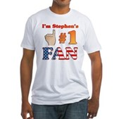 I'm Stephen's #1 Fan Fitted T-Shirt
