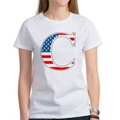 C stands for Colbert Women's T-Shirt