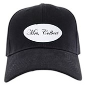 Mrs. Colbert Black Cap