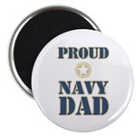 Proud Navy Dad Military Magnet