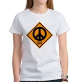 Peace Ahead Women's T-Shirt