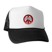 Peace is the word Trucker Hat