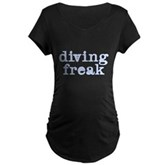 Diving Freak Maternity Dark T-Shirt