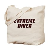 Extreme Diver Tote Bag