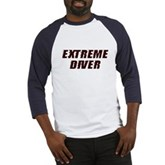 Extreme Diver Baseball Jersey