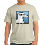 Save the Albatross (close-up) Light T-Shirt