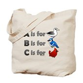 B is for Birdorable Tote Bag