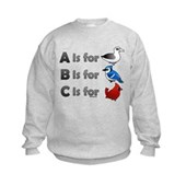 B is for Birdorable Kids Sweatshirt