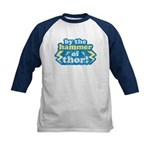 By the Hammer of Thor Kids Baseball Jersey