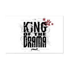 King of the Drama Mini Poster Print
