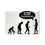 Evolution is following me Rectangle Magnet