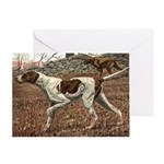 German Shorthaired Pointer Watercolor Greeting Cards