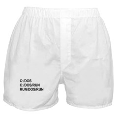 See DOS Run Boxer Shorts