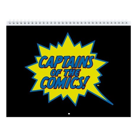 Captains of the Comics 2011 12-Month Calendar