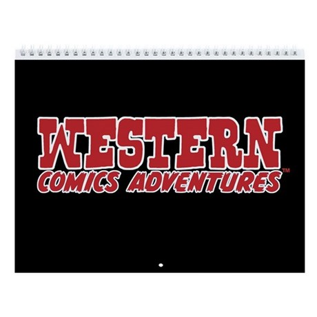 Western Comics Adventures 2011 12-Month Calendar