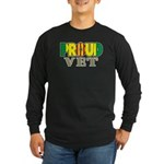 Proud Vietnam Veteran Vet Long Sleeve Dark T-Shirt