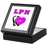LPN Care Keepsake Box