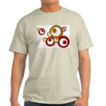 Retro Orange Circles Light T-Shirt