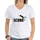 Scuba Women's V-Neck T-Shirt
