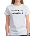 PFC - E3 - Proud of my soldier Women's T-Shirt