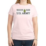 SGM - Proud of my soldier Women's Pink T-Shirt