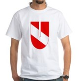 Scuba Flag Letter U White T-Shirt