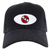 Scuba Flag Pentagram Black Cap