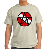 Scuba Flag Pentagram Light T-Shirt