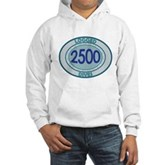 2500 Logged Dives Hooded Sweatshirt