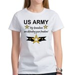 US Army Grandsons Defending Women's T-Shirt