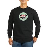 Pirate Panda Long Sleeve Dark T-Shirt
