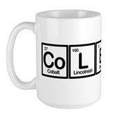 Elements of Truthiness BW Large Mug