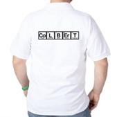 Elements of Truthiness BW Golf Shirt